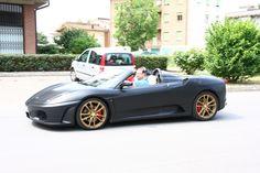 Ferrari F430 Spider testdrive at Maranello