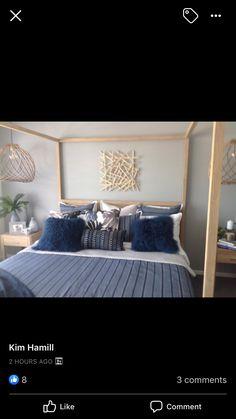 Oversized Mirror, Bedding, Furniture, Home Decor, Bed Linens, Beds, Interior Design, Home Interior Design, Bed Linen