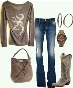 Love the shirt and boots
