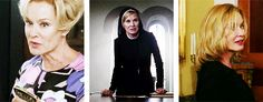 Jessica Lange:  Constance Langdon ~ Sister Jude Martin ~ Fiona Goode... What an awesome actress in all of them!!