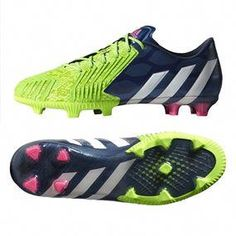 93676ef65d75 Adidas Predator Instinct FG Soccer Cleats (Rich Blue Solar Green)   soccercorner