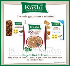 Websaver Canada Coupons: Save on Almond Fresh & Kashi! Kashi Cereal, Thing 1, Printable Coupons, Coupon Deals, Free Samples, Almond, Canada, Fresh