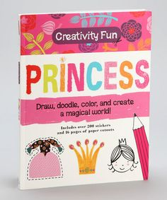 'Doodle books' for kid's are popping up everywhere & are ingenious! tMot boring coloring books, they encourage kids to use their imagination. For example, a page will show a group of objects & ask the child to weave them into a story/picture adding their own art. Another might ask a child to finish a dress for a princess to wear to the ball. The books bring out creativity in a very natural, easy way. My DD loves them-truthfully, I do, to..lol. They  entertain for hours, too! Perfect Summer…