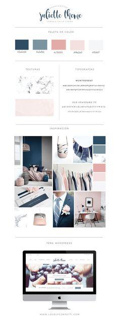 Nueva plantilla WordPress Juliette con portfolio y tienda - Lovely Confetti