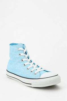 f1adb175bb39 Converse Chuck Taylor All Star Washed Neon High-Top Sneaker Cute Sneakers