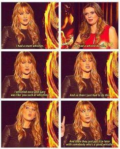 Haha! Jennifer Lawrence