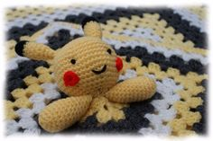 Pikachu Comforter and Blanket Crochet Pattern in Crafts, Needlecrafts & Yarn, Crocheting & Knitting | eBay!