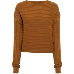 Tibi - Merino Wool Cropped Sweater ($375) ❤ liked on Polyvore featuring tops, sweaters, shirts, jumpers, jackets, structured crop top, merino sweater, crop tops, jumper shirt and shirt crop top