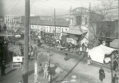 Puente de Vallecas. Avenida de la Albufera años 20? vía @Ls_Madriles