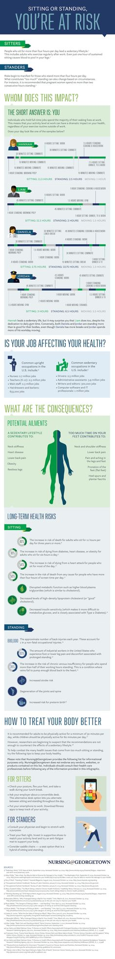 If Your Work Requires Prolonged Sitting or Standing, You're at Risk