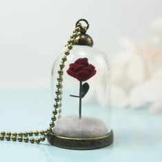 Cheap little necklace, Buy Quality petit prince directly from China rose necklace Suppliers: The Little Prince's Rose,Red Rose.Necklace EcoChic Little Prince's Rose Rose Necklace, Pendant Necklace, China Rose, Winter Rose, The Little Prince, Glass Domes, Beautiful One, Couple Gifts, Beauty And The Beast