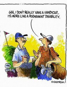 Handicap. #fun  #kgc #golf #golfer #golfen