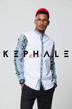 African Shirts For Men, African Dresses Men, African Attire For Men, African Men Fashion, African Wear, Dope Fashion, Mens Fashion Suits, Muslim Men Clothing, African Print Shirt