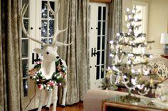 Claystorsethdesign,!!! Bebe'!!! Love this pretty tree and deer!!!