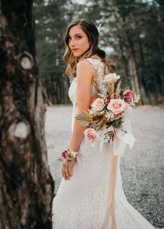 Earthy wedding decor with boho details and a warm color pallet. Check out how we created all the design elements for the perfect earthy wedding look. Wedding Bouquets, Wedding Flowers, Wedding Dresses, Earthy Style, Cottage Wedding, Wedding Looks, Here Comes The Bride, Bridal Boutique, Wedding Vendors