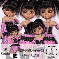 SBP-Halloween-02 [SBPH] - $1.50 : LowBudgetScrapping