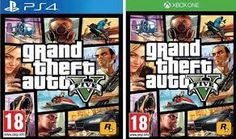 GTA V ON PS4 AND XBOX ONE.
