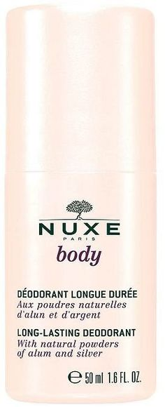 Pin for Later: Solve Your Summer Heat Dilemma the Natural Way Nuxe Body Long-Lasting Deodorant Nuxe Body Long-Lasting Deodorant (£9)