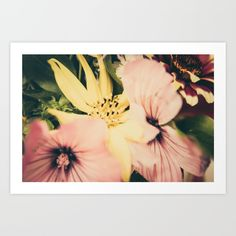 #Flower #bouquet... #Art #Print by #PASob #NEW #SOLD on @Society6 https://society6.com/product/flower-bouquet708733_print#s6-7575996p4a1v45