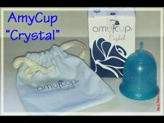 """AmyCup """"Crystal"""" Menstrual Cup Information - YouTube"""