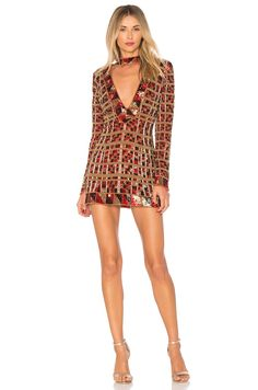 X by NBD Zuzka Dress in Digital Heat | REVOLVE $898