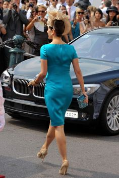 Princess Mary Photos - European royals and other guests attend the royal wedding ceremony between Prince Albert II of Monaco and Charlene Wittstock at the Prince's Palace of Monaco. Princesa Mary, Crown Princess Mary, Prince And Princess, Royal Fashion, All Fashion, Dress Fashion, Prince Wife, Monaco, Mary Donaldson