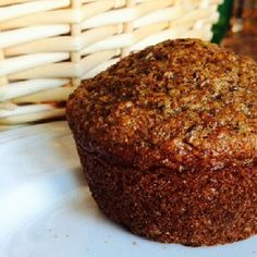 Recipe With Wheat Bran, All Bran Muffins, Applesauce Muffins, Applesauce Baking, Applesauce Recipes, Flake Recipes, Homemade Muffins, Chips, Healthy Muffins