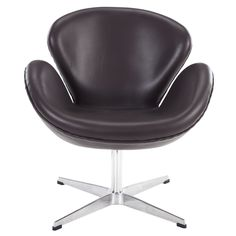 Wing Leather Lounge Chair EEI-527