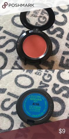 MAC Limited Edition Eyeshadow From the MAC x Chris Chang collection. Brand new without box. Color 'electric mandarin'. This item is not in the limited edition packaging because it was an item given to employees from the collection. MAC Cosmetics Makeup Eyeshadow