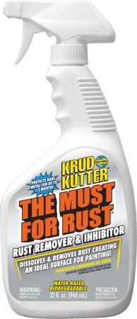 The Must for Rust by Krud Cutter, 32 oz Remove Rust From Metal, How To Remove Rust, Removing Rust, Krud Kutter, Best Cleaner, Mug Tree, Carpet Cleaning Machines, Pie Safe, All Purpose Cleaners