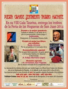 """PEÑA TAURINA  PACORRO: PUERTA GRANDE """"VII GALA TAURINA"""""""