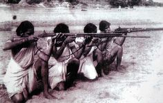Liberation War ©: A very Rare picture of Telangana Women who fought against the cruel Razakars (War criminals) under Nizami rule in 1971 East Pakistan, World Conflicts, Dhaka Bangladesh, Rare Pictures, Women In History, Wow Products, Wwi, The Past, 26 March