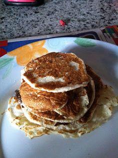 Fitness & Nutrition FOR DUMMIES: RICETTA: Pancakes alla banana facili e leggeri (193 kcal per 6 piccoli pancakes)