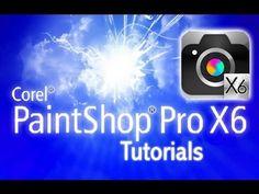 PaintShop Pro X6 - Tutorial for Beginners [+ General Overview]