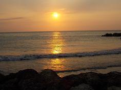 Cartagena de Indias sunset, Colombia.