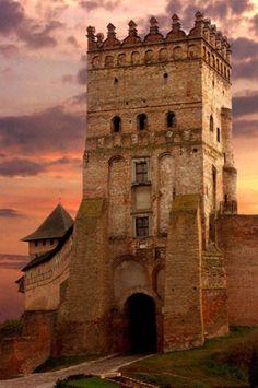 Castle . Lutsk. Ukraine
