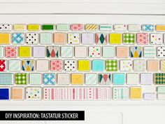 tastatur sticker