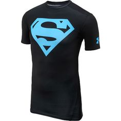 UNDER ARMOUR Men's Alter Ego Superman Short-Sleeve Compression T-Shirt