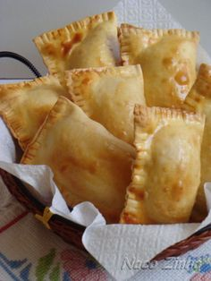 pastel_frango_assado Brazilian food. You can also make it with ground beef!!!!!