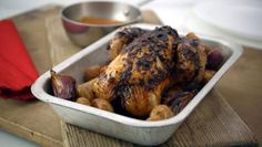 Peri Peri Chicken A spicy and different way to cook a roast chicken, this can be as hot as you like. Just increase the quantities of chilli and Tabasco sauce.