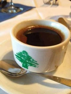 Lebanon people enjoy drinking a lot of coffee. The coffee is served in many different ways.
