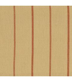 Home Decor Solid Fabric- Richloom Studio Simone Red - dry clean only
