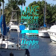 Happy Hump Day! My boss free life... Click link in bio @bossfreelife  #mylife #boatlife
