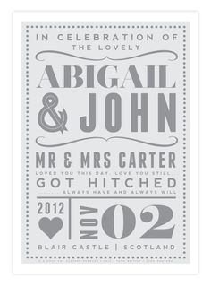 Personalized Wedding Married Love Giclee Art Print Vintage Retro Typography Decor Marriage Personalised Custom Gift Present Uk