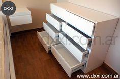 Buenos Aires, Argentina. Muebles diseñados y fabricados por DXXI, Buenos Aires, Argentina #dxxi #deco #furniture #interiors #design #dormitorio #bedrooms #cajonera #comoda #drawers