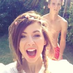 Zoe and Joe Sugg- two of my favorite semi-famous foreign people