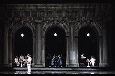 """""""Death in Venice"""", B. Britten, Genova, Teatro Carlo Felice, 2008,Regia - Scenografia - Costumi di Pier Luigi Pizzi"""