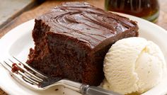 Share our Double Chocolate Fudge Coca-Cola® Cake with someone special this Valentine's Day! A true Cracker Barrel® tradition.