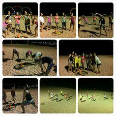 Beach training...