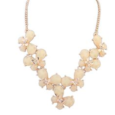 Beautiful #Statement #Necklace For beauty, with Resin, Butterfly, CLICK HERE  http://www.beads.us/product/Fashion-Statement-Necklace_p248317.html?Utm_rid=194581